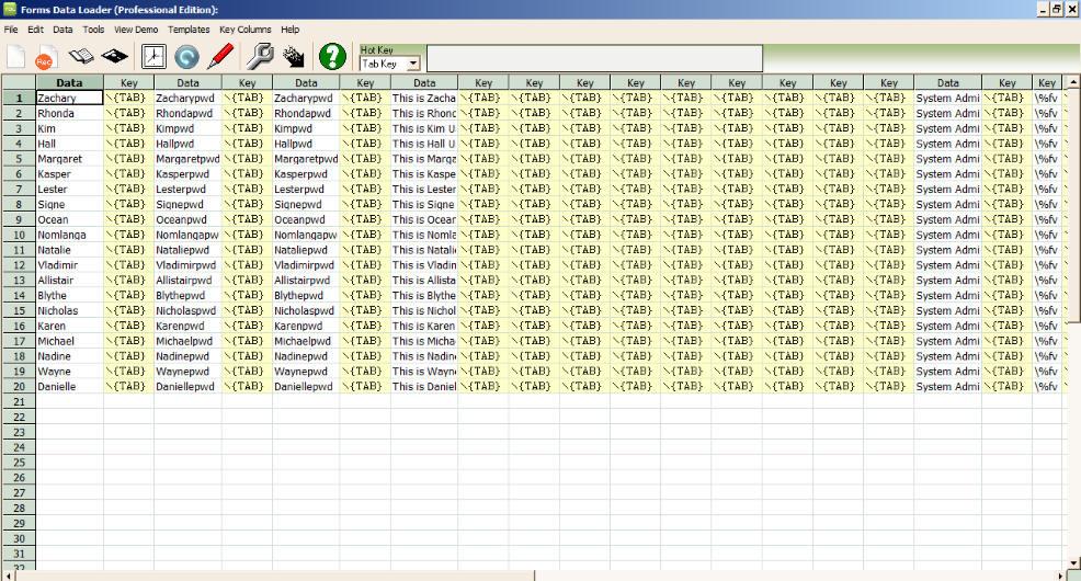 forms data loader free download