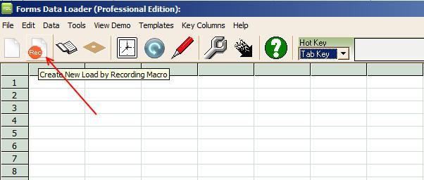Using Data Loader