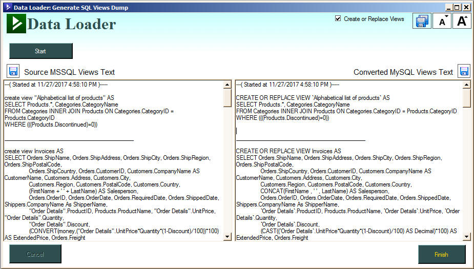 Data Loader: Tool for Oracle E-Business, Import Excel,CSV Convert