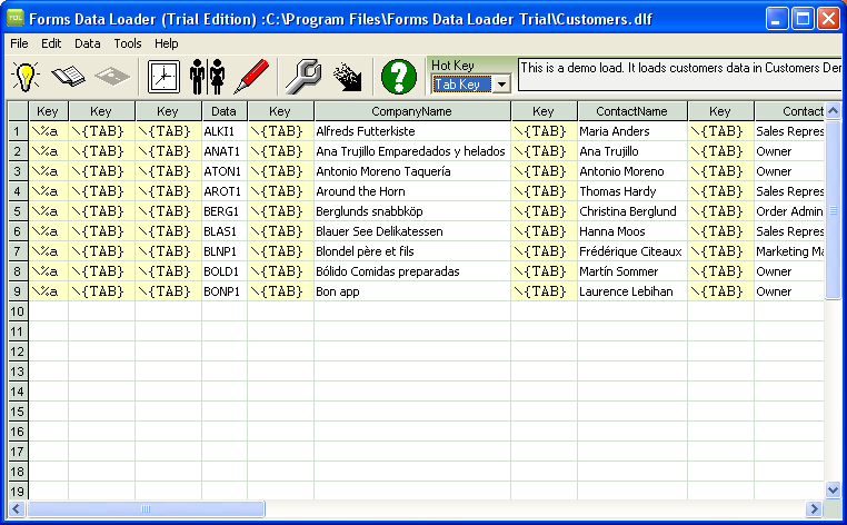 Automate Data Entry in Oracle Apps